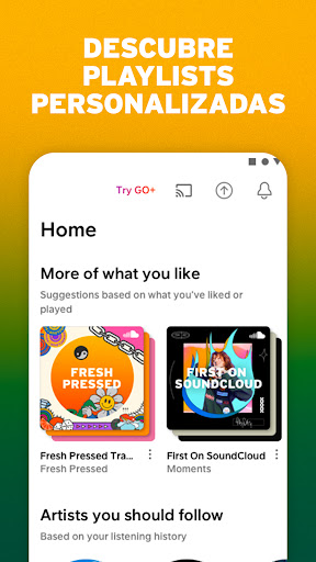 SoundCloud - Música, playlists y podcasts screenshot 4