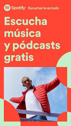 Spotify: música y pódcasts screenshot 1