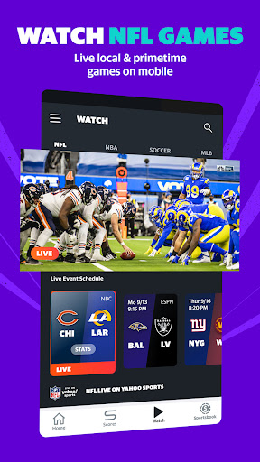 Yahoo Sports: Get live sports news & scores screenshot 1