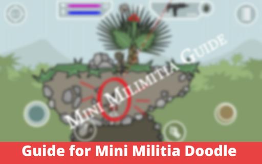 Guide for Mini Militia Doodle gun 2020 screenshot 1
