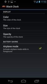 Black Alarm Clock screenshot 3
