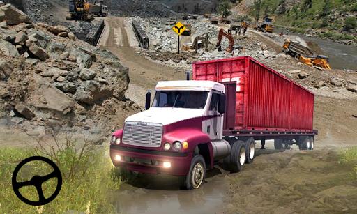 Cargo Truck Offroad Driving Simulator 2021 screenshot 2
