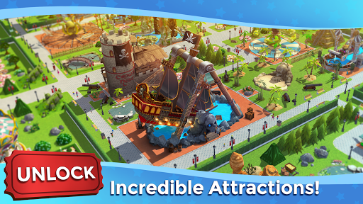 RollerCoaster Tycoon Touch - Build your Theme Park screenshot 3