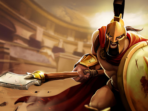 Gladiator Heroes - Fighting and strategy game screenshot 13