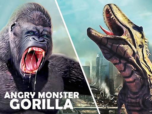 Monster Gorilla Attack-Godzilla Vs King Kong Games screenshot 8