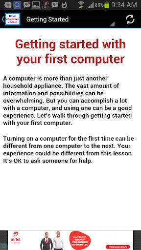 Basic Computer Course screenshot 3