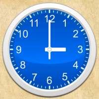 シンプルなアナログ時計ウィジェット無料 on 9Apps