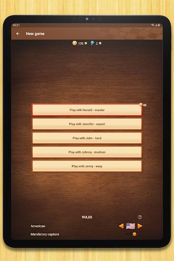 Checkers - strategy board game screenshot 15