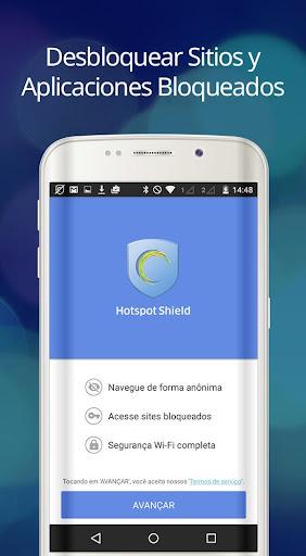 Hotspot Shield Proxy VPN gratuito y VPN segura screenshot 6