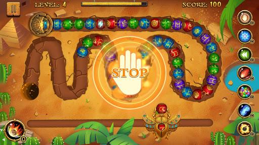 Jungle Marble Blast screenshot 4