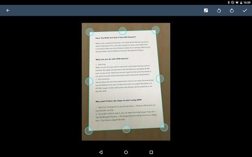 CamScanner Escáner PDF, Escáner de documentos screenshot 17