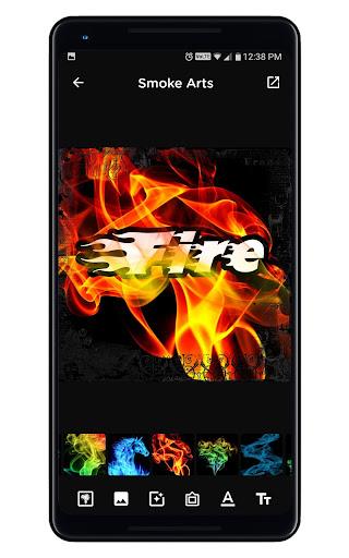 Smoke Name Art - Smoky Effect Focus n Filter Maker screenshot 12