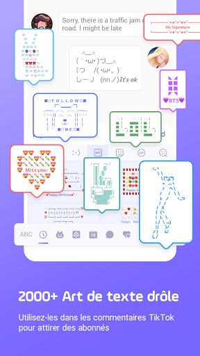 Clavier Facemoji Emoji:Clavier screenshot 7