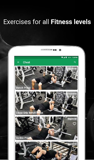 Fitvate - Home & Gym Workout Trainer Fitness Plans screenshot 12