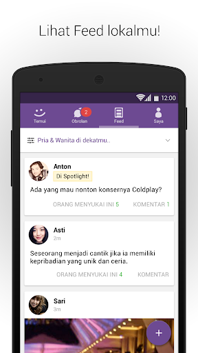 MeetMe – Live Ngobrol dan Ketemu Orang Baru screenshot 4