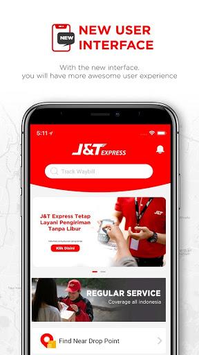 J&T Express Indonesia 1 تصوير الشاشة