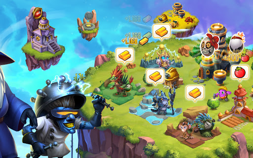 Monster Legends: Breed, Collect and Battle स्क्रीनशॉट 11