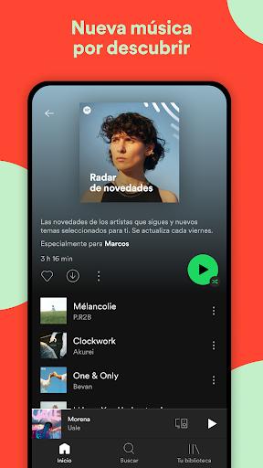 Spotify: música y pódcasts screenshot 4
