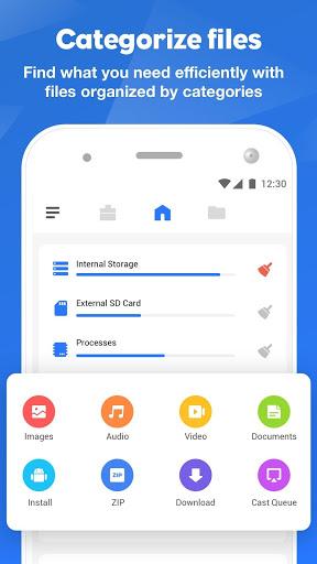 FileMaster: Urus Fail, Kuasa Pemindahan Fail screenshot 1