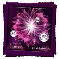 Neon Flowers Live Wallpaper on APKTom