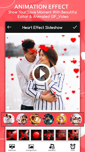 Love Video Maker : Photo Slideshow With Music screenshot 4