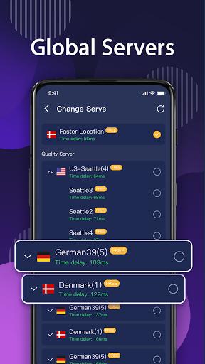 NightOwl VPN PRO - Fast , Free, Unlimited, Secure screenshot 4