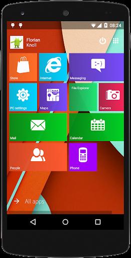 Metro UI Launcher 10 screenshot 1