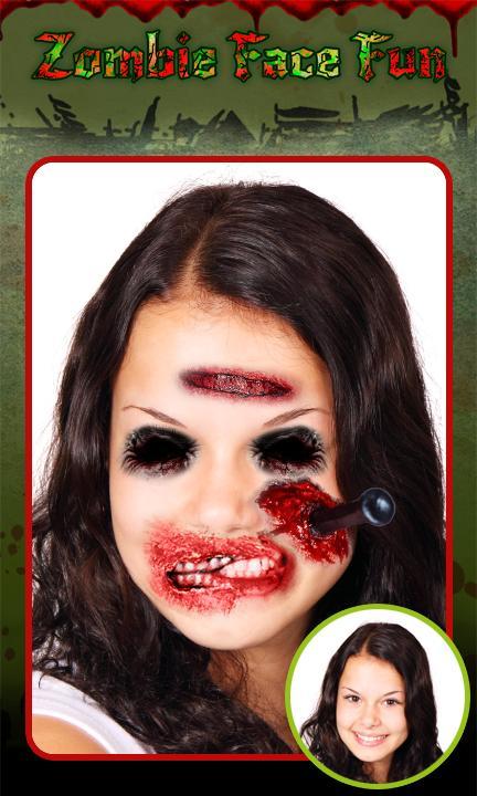 Zombie Face Fun screenshot 1
