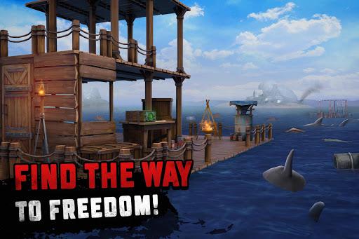 Raft Survival: Ocean Nomad - Simulator screenshot 3