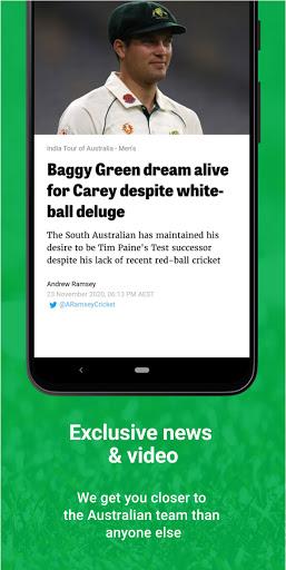 Cricket Australia Live screenshot 5