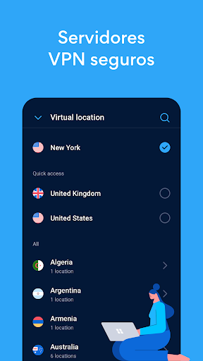 Hotspot Shield Proxy VPN gratuito y VPN segura screenshot 3