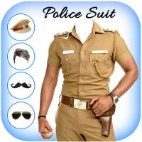 Men Police suit Photo Editor - Police Dresses on APKTom