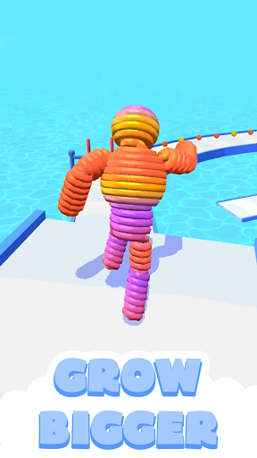 Rope-Man Run screenshot 1
