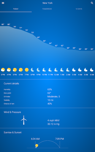 Cuaca screenshot 9