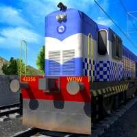 インドの警察列車シミュレーター on 9Apps
