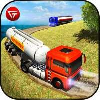 Olietanker Transporter Brandstofvrachtwagen Rijden on 9Apps