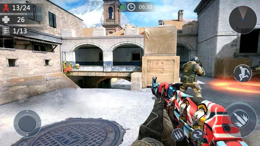 FPS Critical Strike War Attack screenshot 2