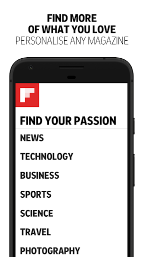 Flipboard: News For Any Topic स्क्रीनशॉट 5