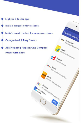 Free Online Shopping India App скриншот 2