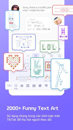 Bàn phím Facemoji: Bàn phím screenshot 7