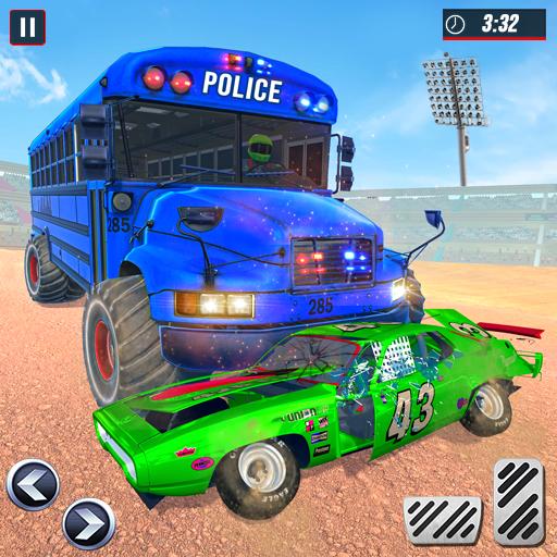 Police Bus Demolition Derby icon