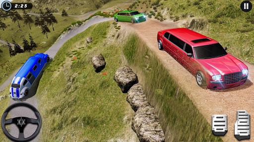 Big City Limo Car Driving Taxi Games screenshot 4