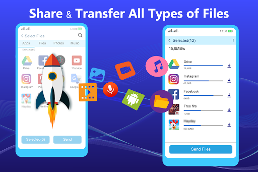 Share - File Transfer & Connect screenshot 1