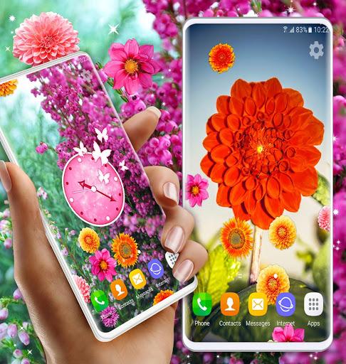 Autumn Flowers 4K Live Wallpaper ❤️ Forest Themes 6 تصوير الشاشة