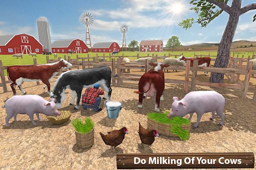 ซิมเกษตรรถแทรกเตอร์อินทรีย์: การเก็บเกี่ยวขนาดใหญ่ screenshot 7