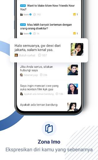 imo video dan ngobrol gratis screenshot 3