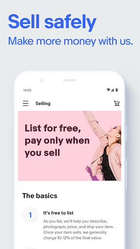 eBay: Discover great deals and sell items online screenshot 3