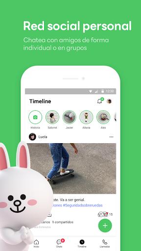 LINE: Llama y mensajea gratis screenshot 5
