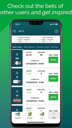 BetMines Free Football Betting Tips & Predictions screenshot 7