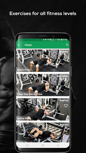 Fitvate - Home & Gym Workout Trainer Fitness Plans screenshot 4